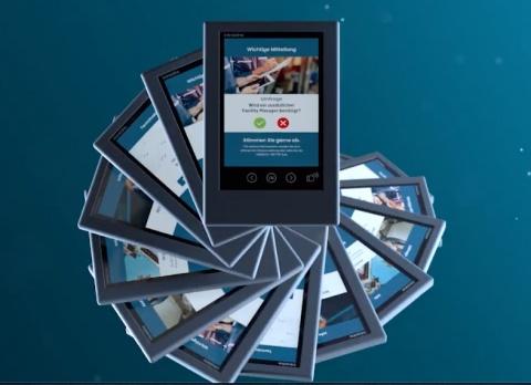 Intratone - das interaktive Info-Display - Produktfilm